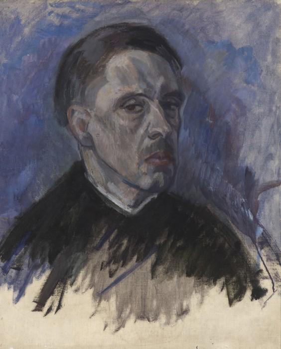 38. Autorretrato- ca. 1928-61x51 cm - o/l- arch. Foto. Museo Bellas Artes de Alava. Vitoria