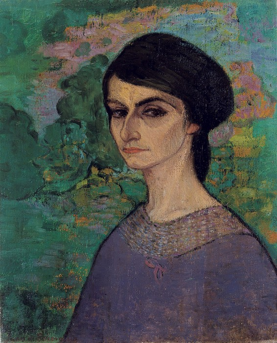 6. Mademoiselle Lucie- 1912- 61x50 cm - o/l- particular